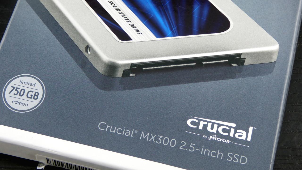 Crucial MX300 SSD: Firmware M0CR050 verspricht weitere Verbesserungen