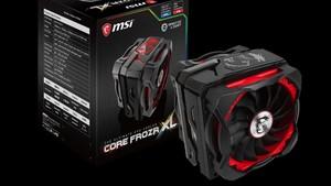 MSI Core Frozr XL: CPU-Kühlung und RGB-Farbspiele kombiniert
