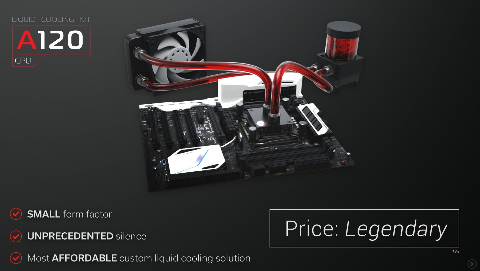 EK Water Blocks Fluid Gaming: Wasserkühlung aus Aluminium