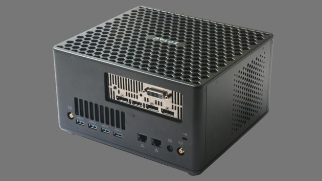 Zotac Zbox Magnus EK/ER: Mini-PCs mit AMD Ryzen und Mini-Desktop-Grafikkarte