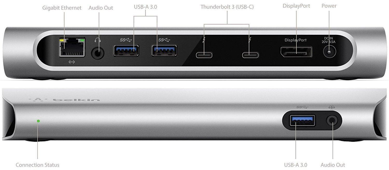 Belkin Thunderbolt 3 Express-HD-Dock
