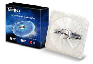 Sapphire Nitro Gear – transparente 95-mm-Lüfter in drei Farbvarianten optional erhältlich