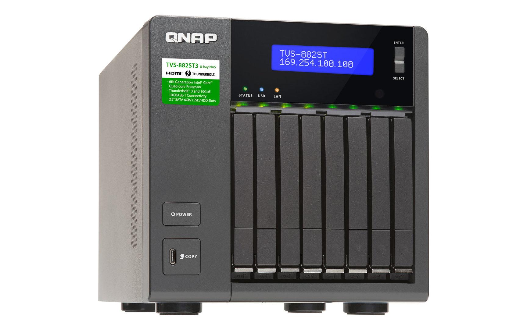 QNAP TVS-882ST3