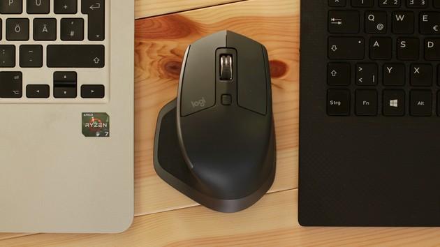 Logitech Flow im Test: Eine Maus. DreiRechner? FastkeinProblem.