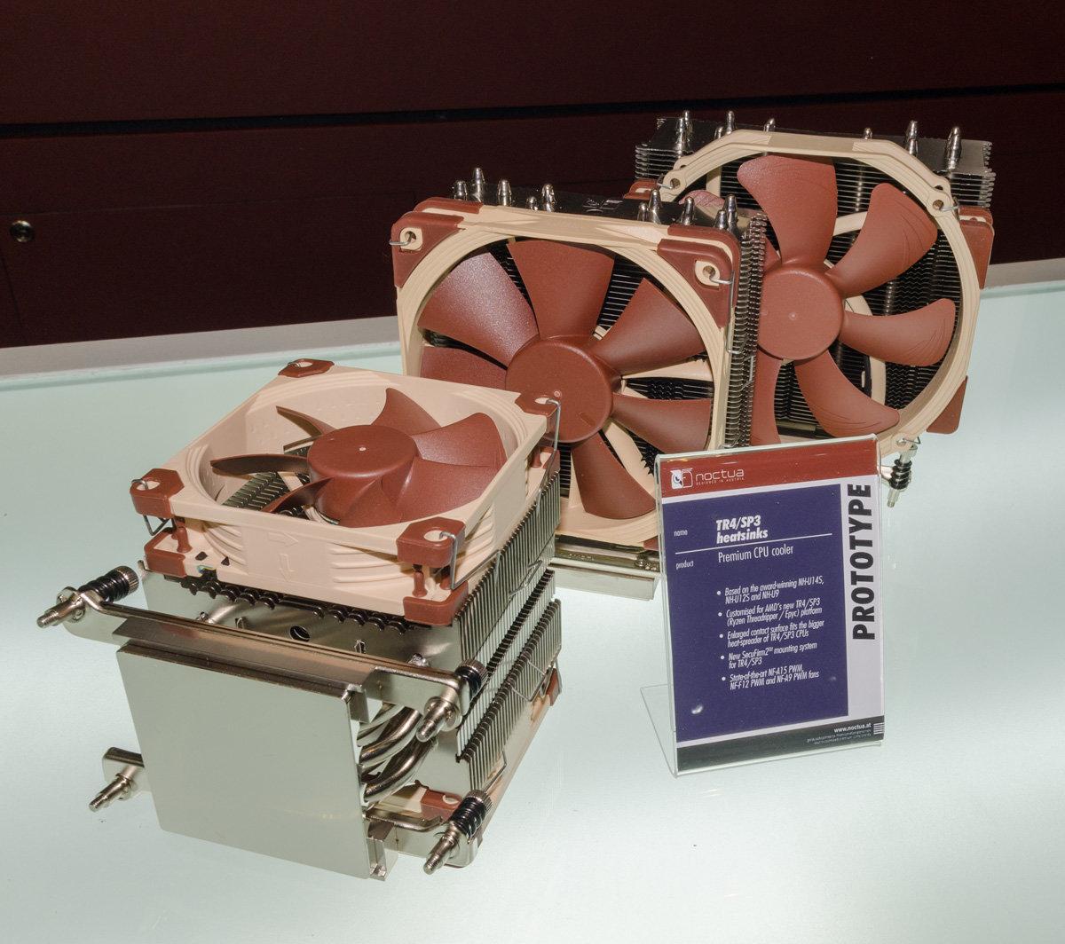 Noctua-Kühler für Sockel SP3 und TR4