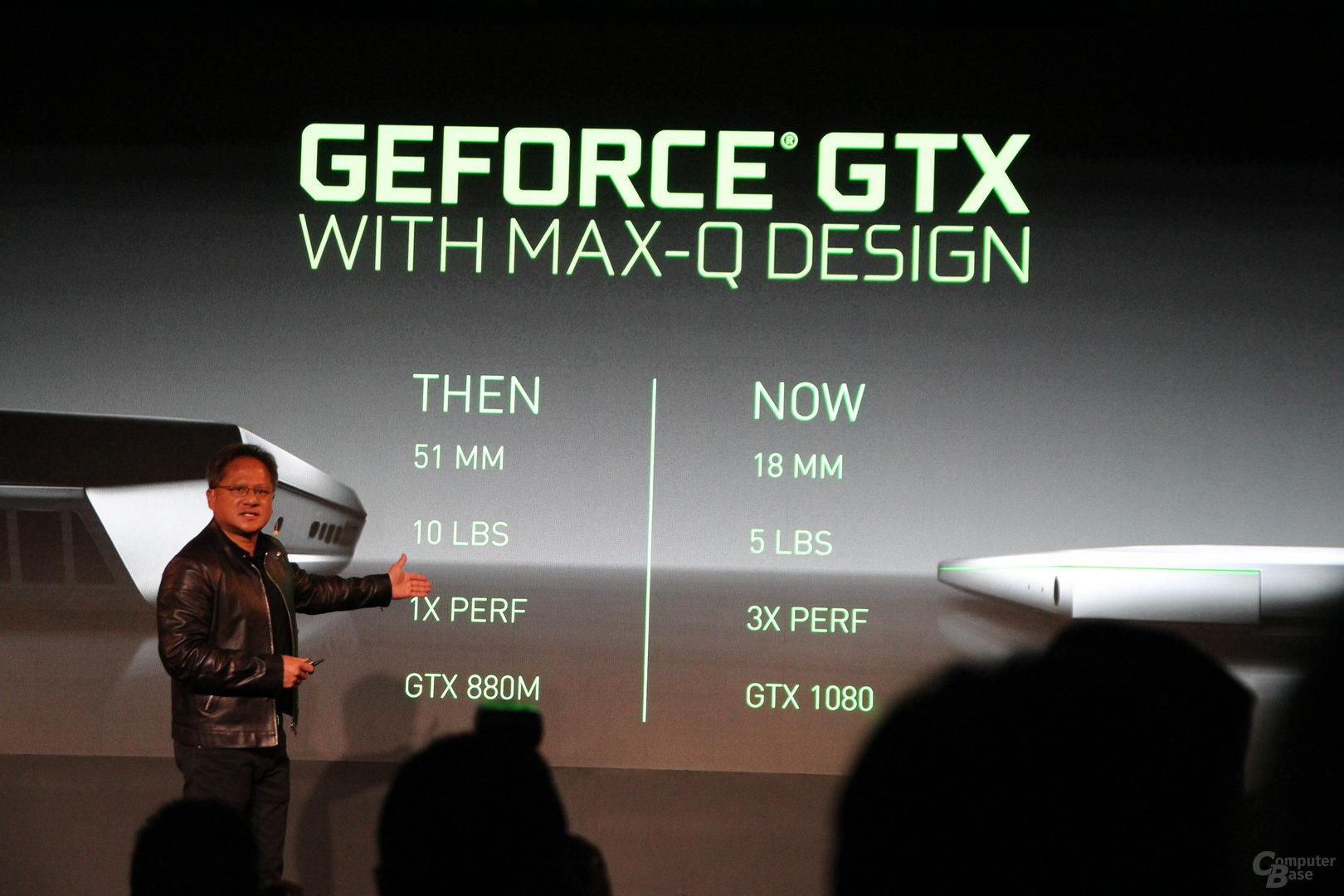 Nvidia GeForce GTX Max-Q Design