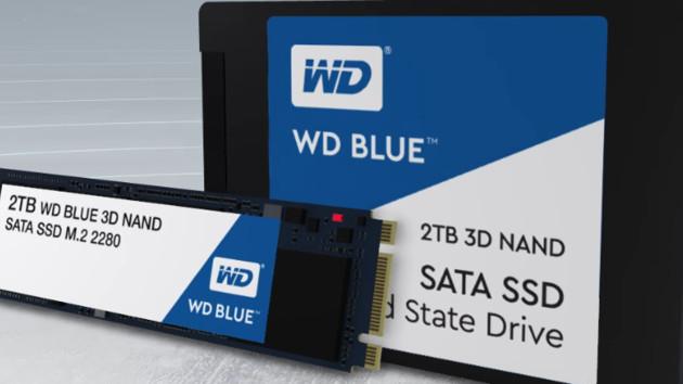 BiCS3-Flash: WD Blue und SanDisk Ultra erhalten den neuen 3D-NAND