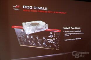 DIMM.2 bringt M.2-SSDs in den RAM-Slot
