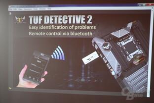 TUF Detective 2: Problemsuche und Fernbedienung via Bluetooth und App