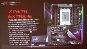 ROG Zenith Extreme X399: Asus-Mainboard für Ryzen Threadripper im Detail