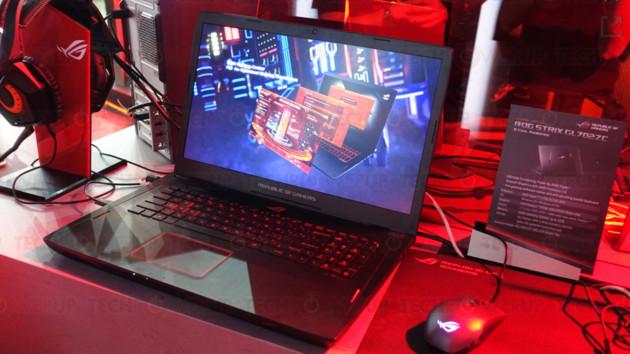 Asus ROG Strix GL702ZC: Notebook mit AMD Ryzen 7 1700 und Radeon RX 580