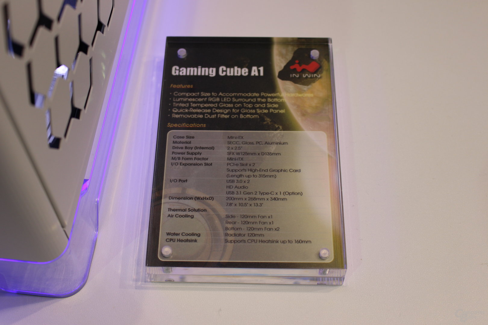 In Win Gaming Cube A1