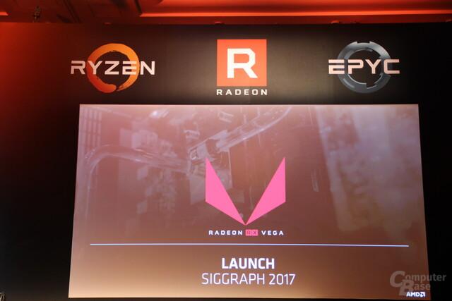 AMD Radeon RX Vega erscheint Ende Juli