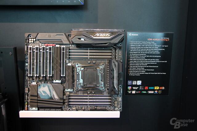 Gigabyte X299 Aorus Gaming 9