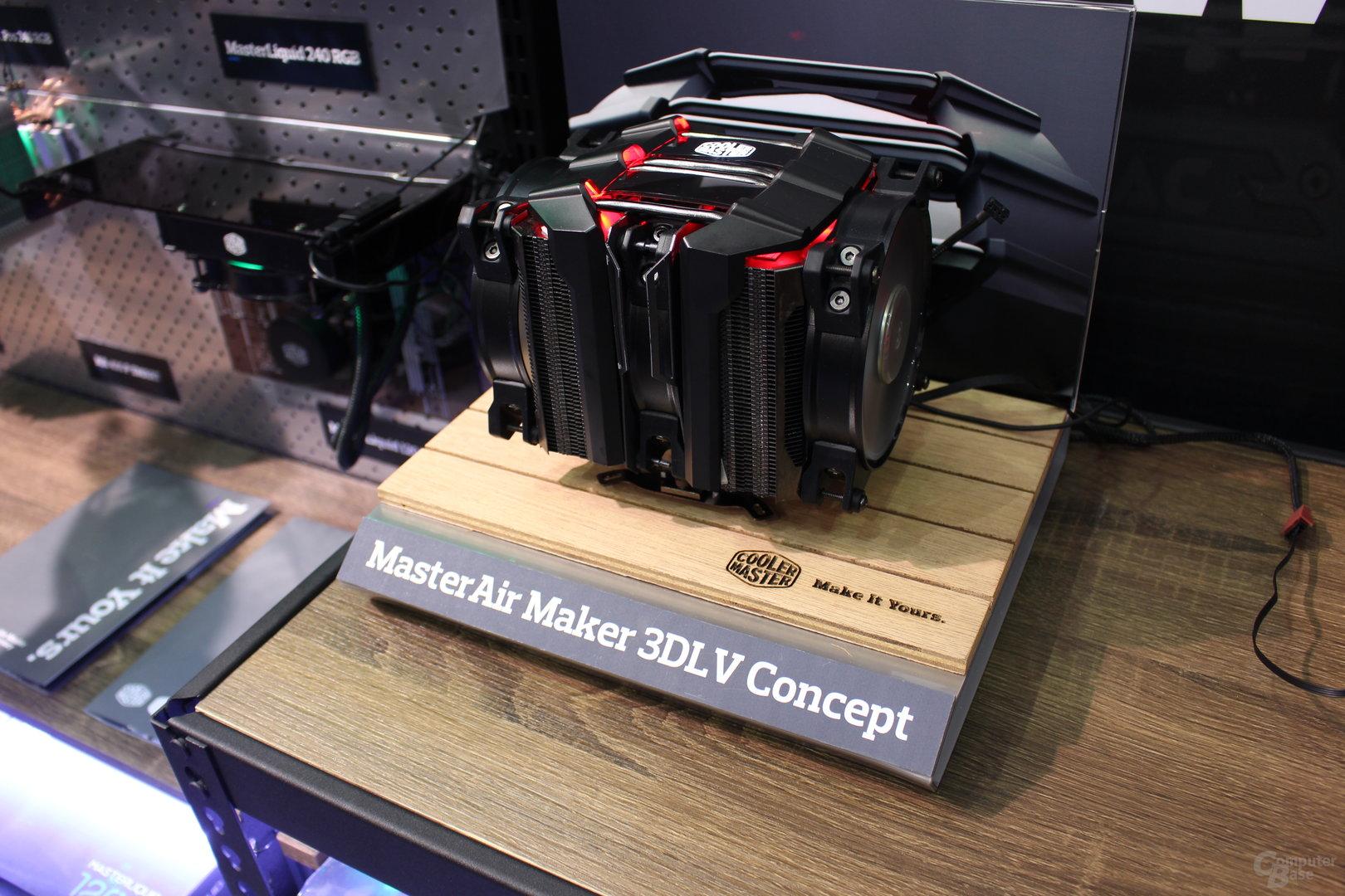 Cooler Master MasterAir Maker 3DLV Concept
