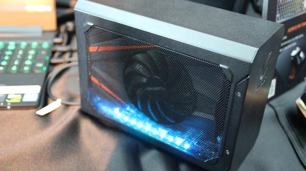 Gigabyte Aorus Gaming Box: Winziges eGPU-Gehäuse mit GTX 1070 Mini ab Werk
