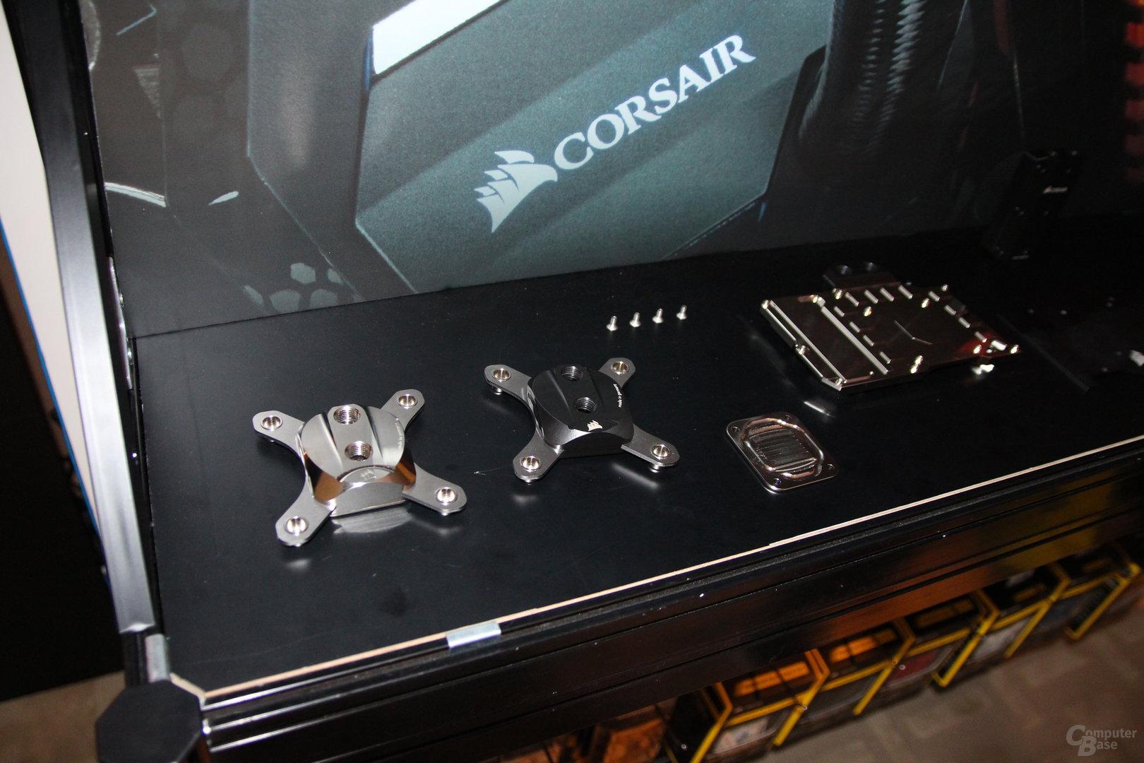 Corsair-DIY-Wasserkühlung: Kühler von Aqua Computer