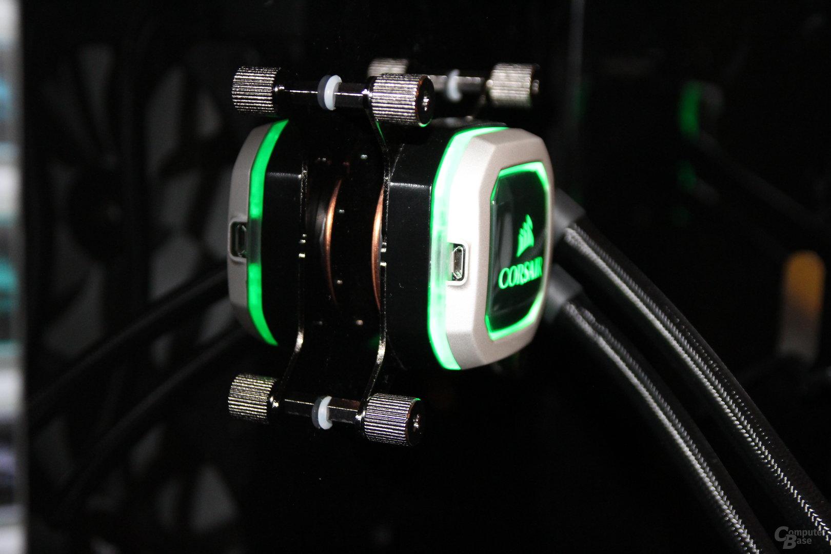 Corsair RGB-Hydro-Kompaktwasserkühlung