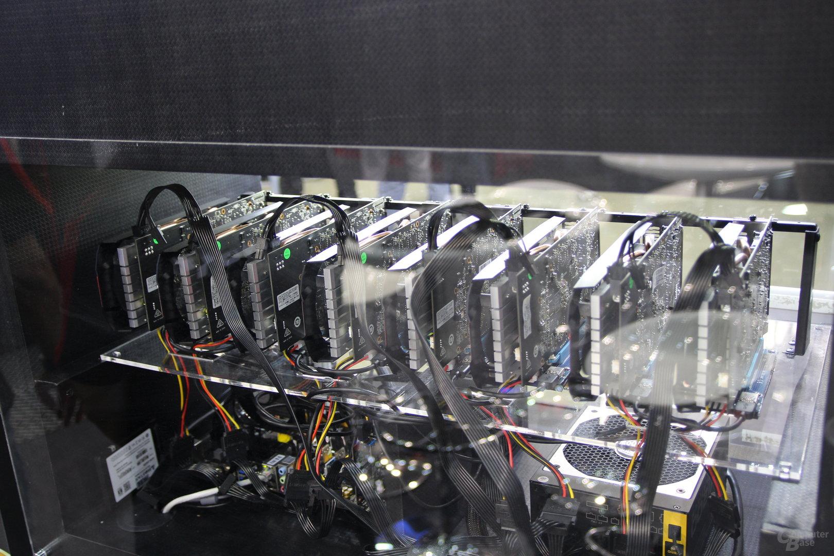 Demo-Mining-System von Biostar
