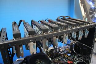 Demo-Mining-System von Sapphire