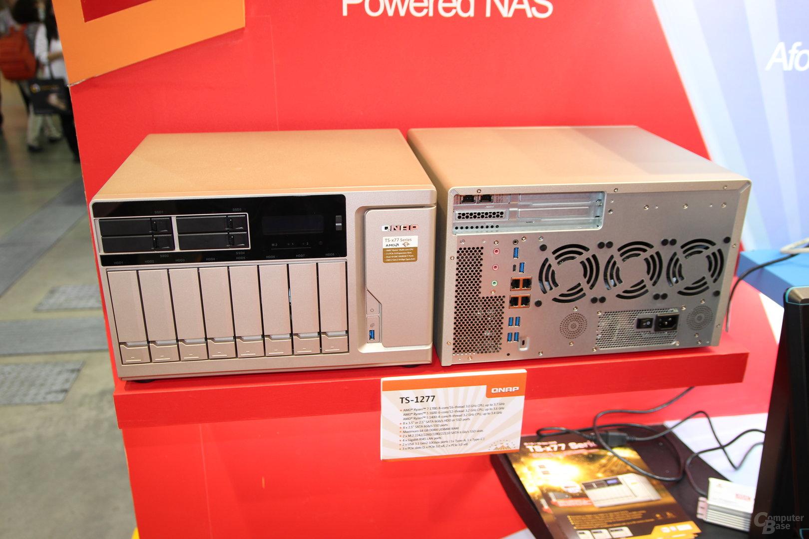 QNAP TS-x77 Ryzen-NAS