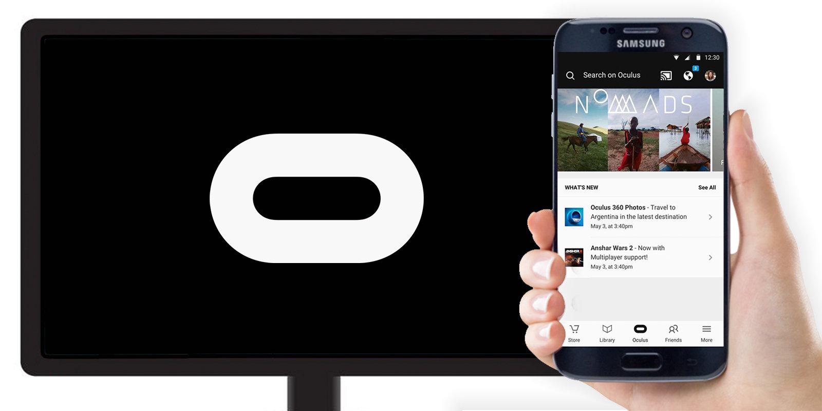360-Grad Videos per Cast und GearVR auf den Monitor