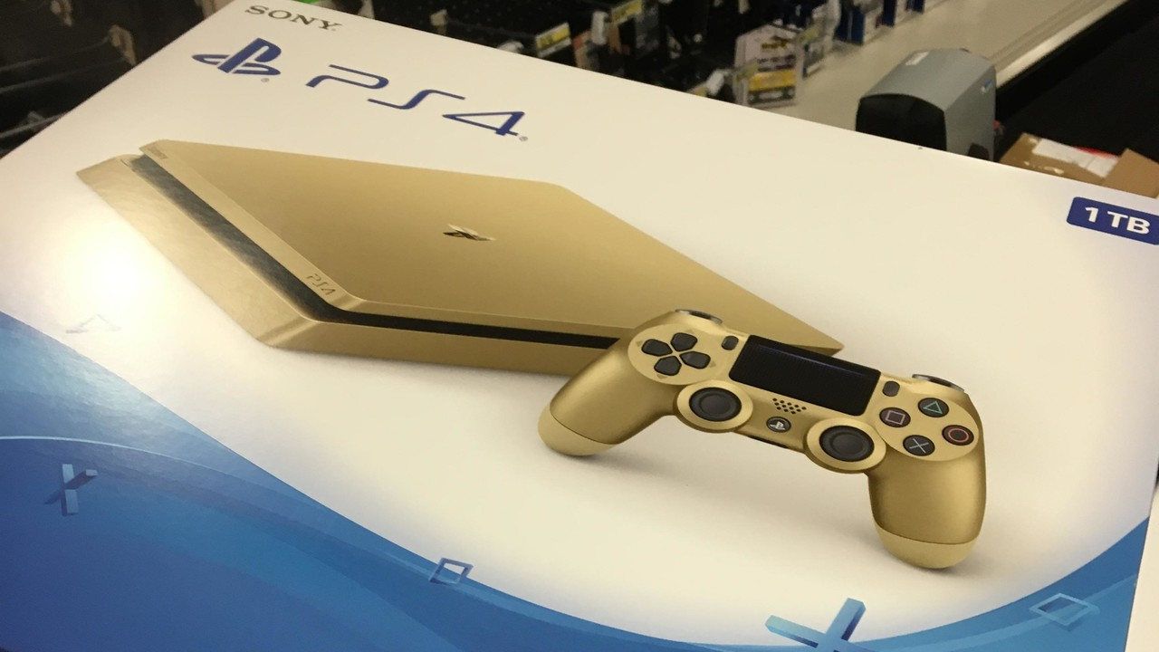 Schmuckstücke: PS4 Slim in Gold, Galaxy S8+ in Roségold gesichtet