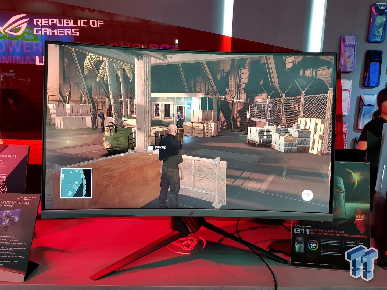 Asus ROG Strix XG32VQ mit WQHD und 144 Hz
