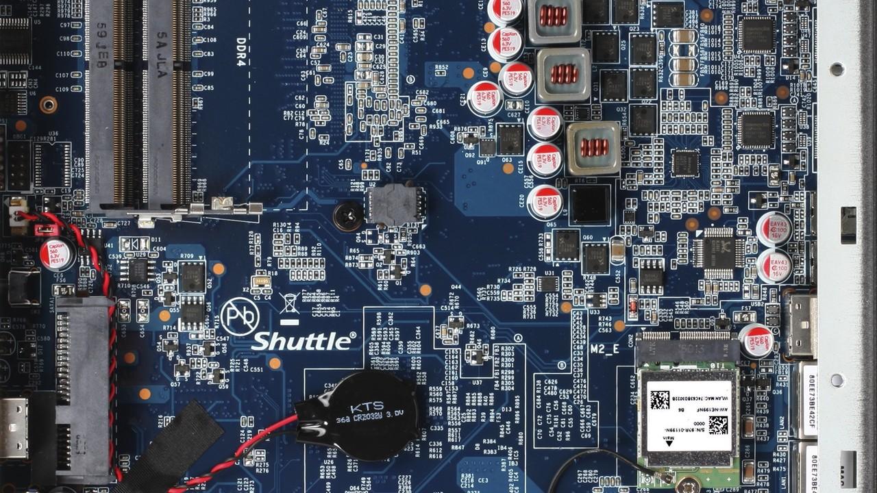 Shuttle DS77: Lüfterlose 1-Liter-Mini-PCs auf Kaby-Lake-Basis