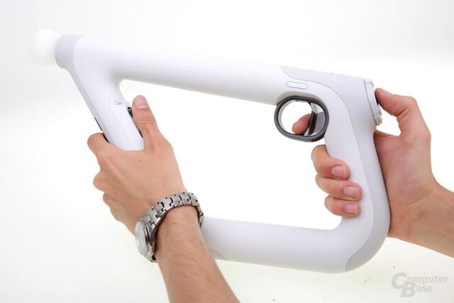 Der Aim Controller für PSVR: Futuristisch, praktisch, gut