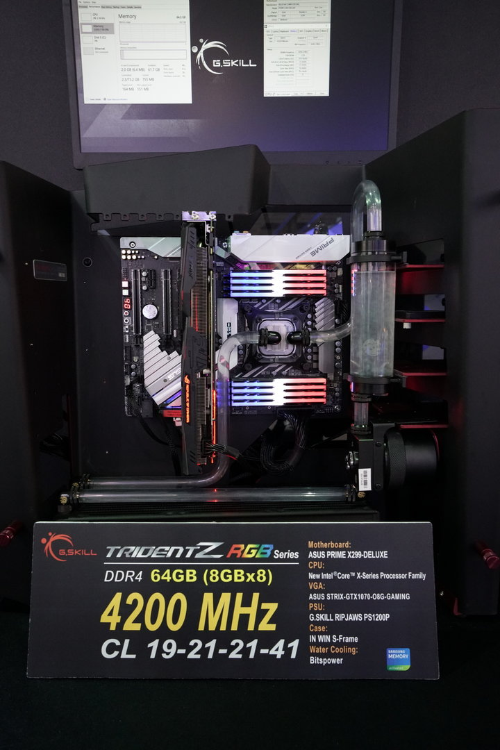 G.Skill Trident Z DDR4-4.200 mit 64 GByte