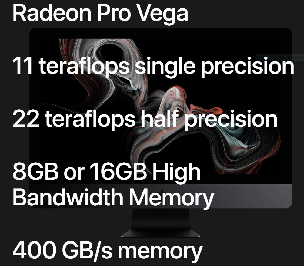 Apple iMac Pro mit AMD Vega