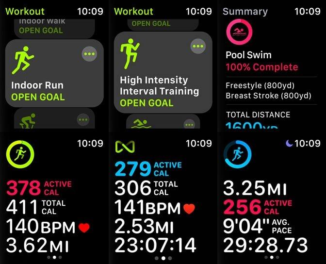 Die runderneuerte Workout-App