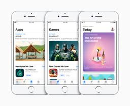 Der neue App Store mit Tagesansicht