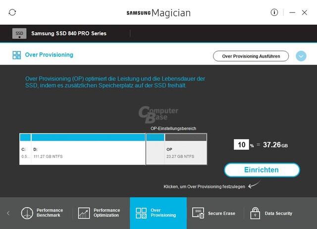 Mit Magician 5.1.0 kehrt Over-Provisioning zurück