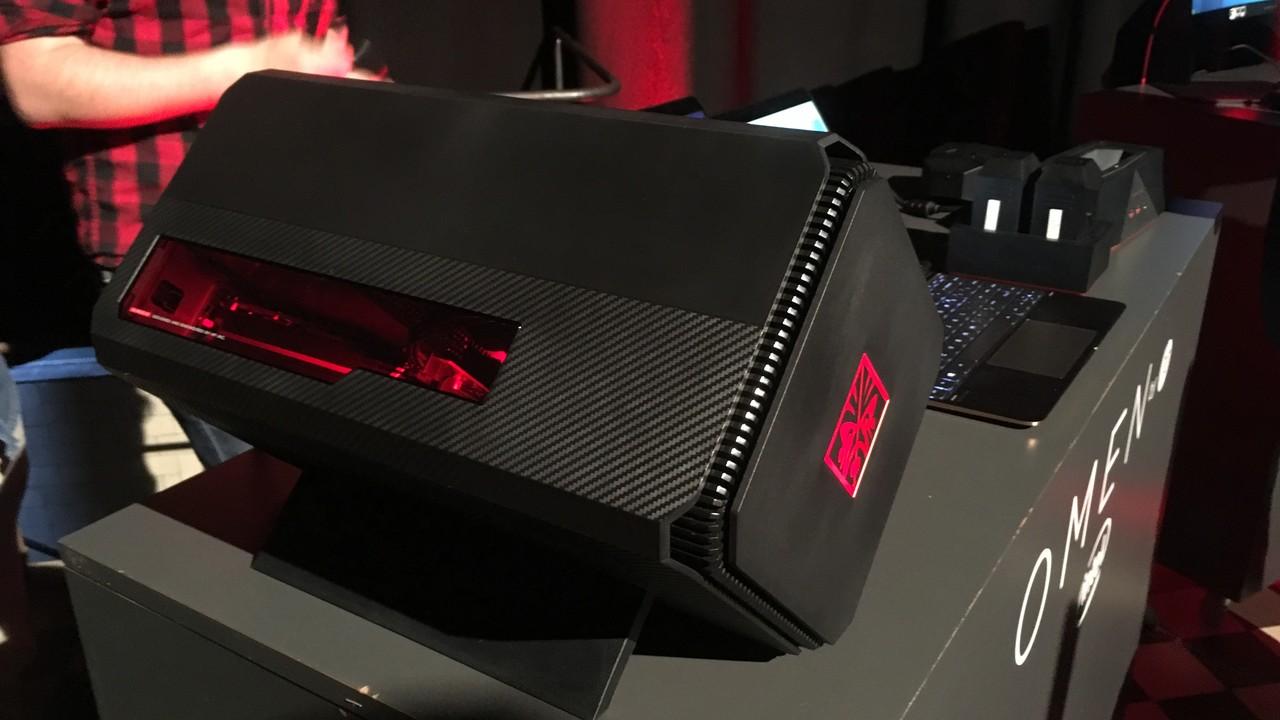 Omen by HP: Ryzen im Gaming-PC, eGPU-Gehäuse für 299 Euro