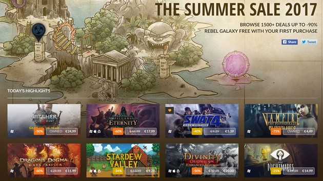 GOG.com: Rabatte und neue Spiele für Connect im Summer Sale