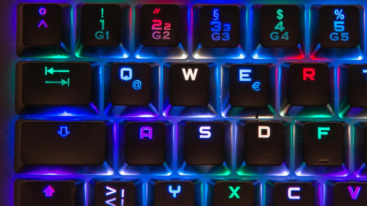 KM Gaming K-GK1: Tastatur mit Mechanik und Geräuschdämpfung