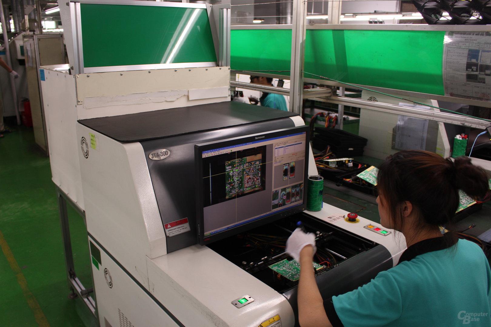 Automatisierte optische Qualitätskontrolle