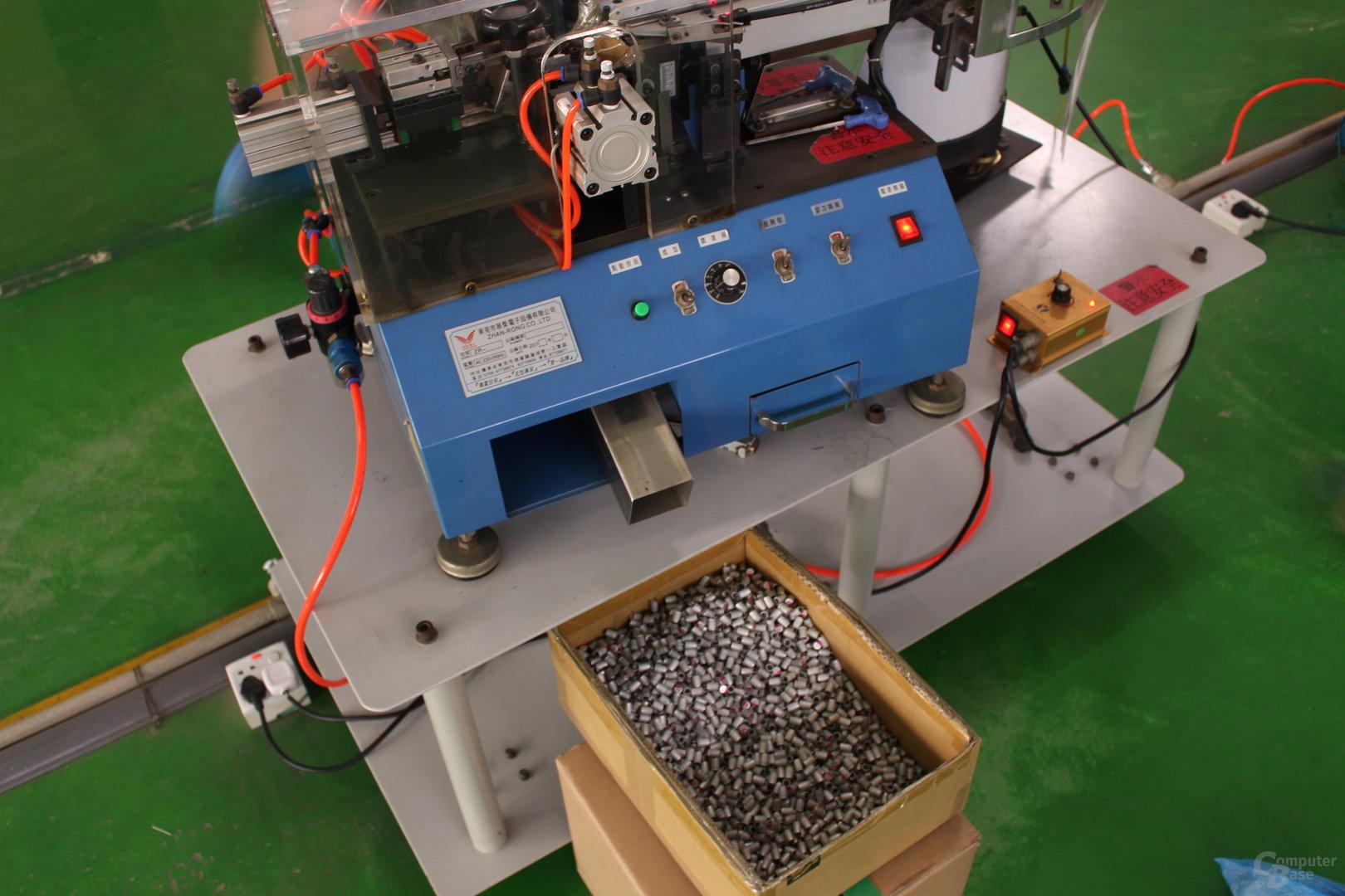 Zugeschnittene Feststoffkondensatoren