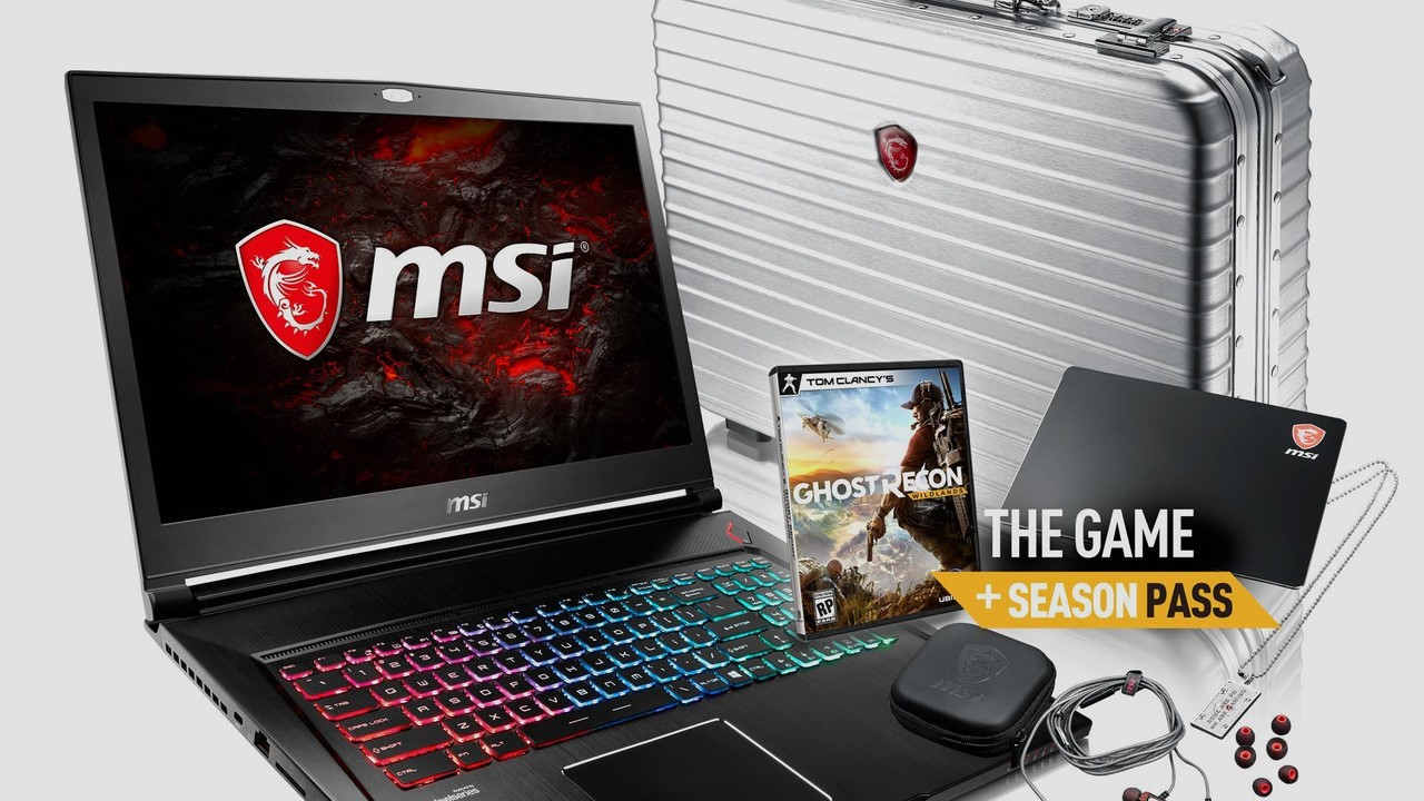 Gamecase Collector's Edition: MSI-Notebook mit Bonus-Peripherie im Alu-Koffer