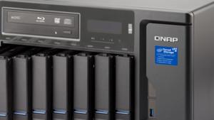 QNAP TVS-882BR(T3): Kaby-Lake i5/i7, 32 GB RAM, TB 3 und Blu-ray-LW im NAS