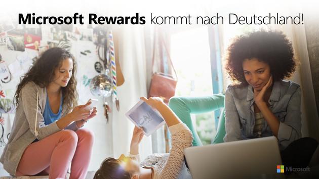 Microsoft Rewards: Punkte sammeln für Bing-Suchen und Einkäufe