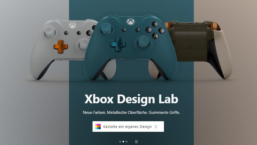 Xbox Controller Gestalten