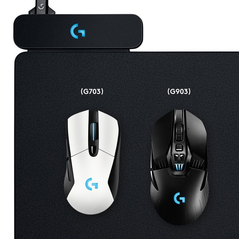 Logitech Powerplay mit G703 und G903 Lightspeed