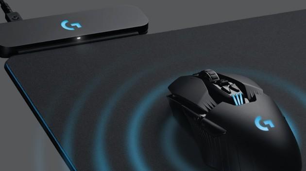 Logitech G703 & G903: Mauspad lädt neue kabellose Gaming-Mäuse auf