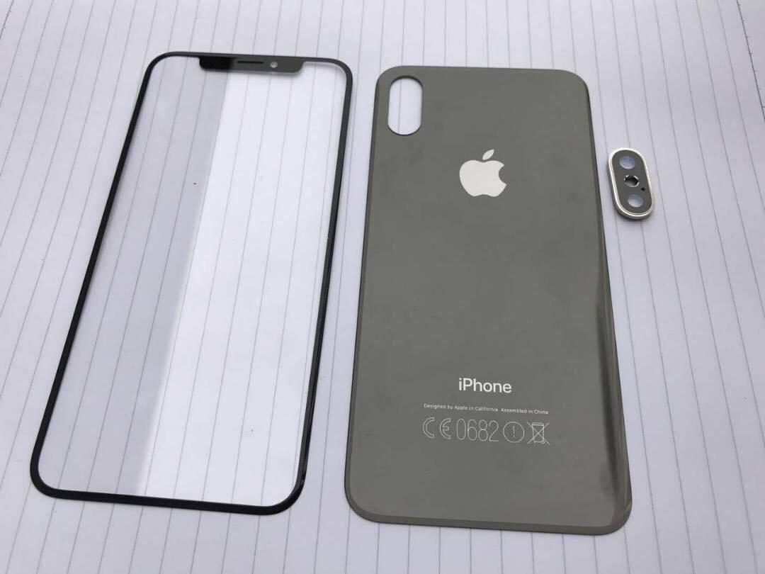 Mutmaßliche Gehäuseteile des iPhone 8