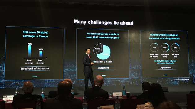 Huawei Innovation Day: Europa soll Milliarden mehr in Gigabit-Netze investieren