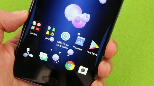 HTC U11 im Test: Ein gutes Smartphone braucht keine Gimmicks