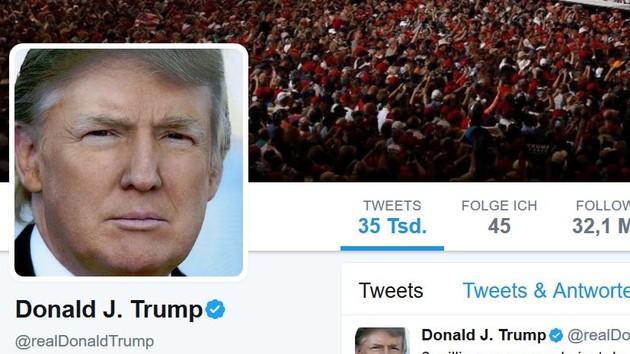 Covfefe-Gesetz: Abgeordneter will alle Trump-Tweets archivieren